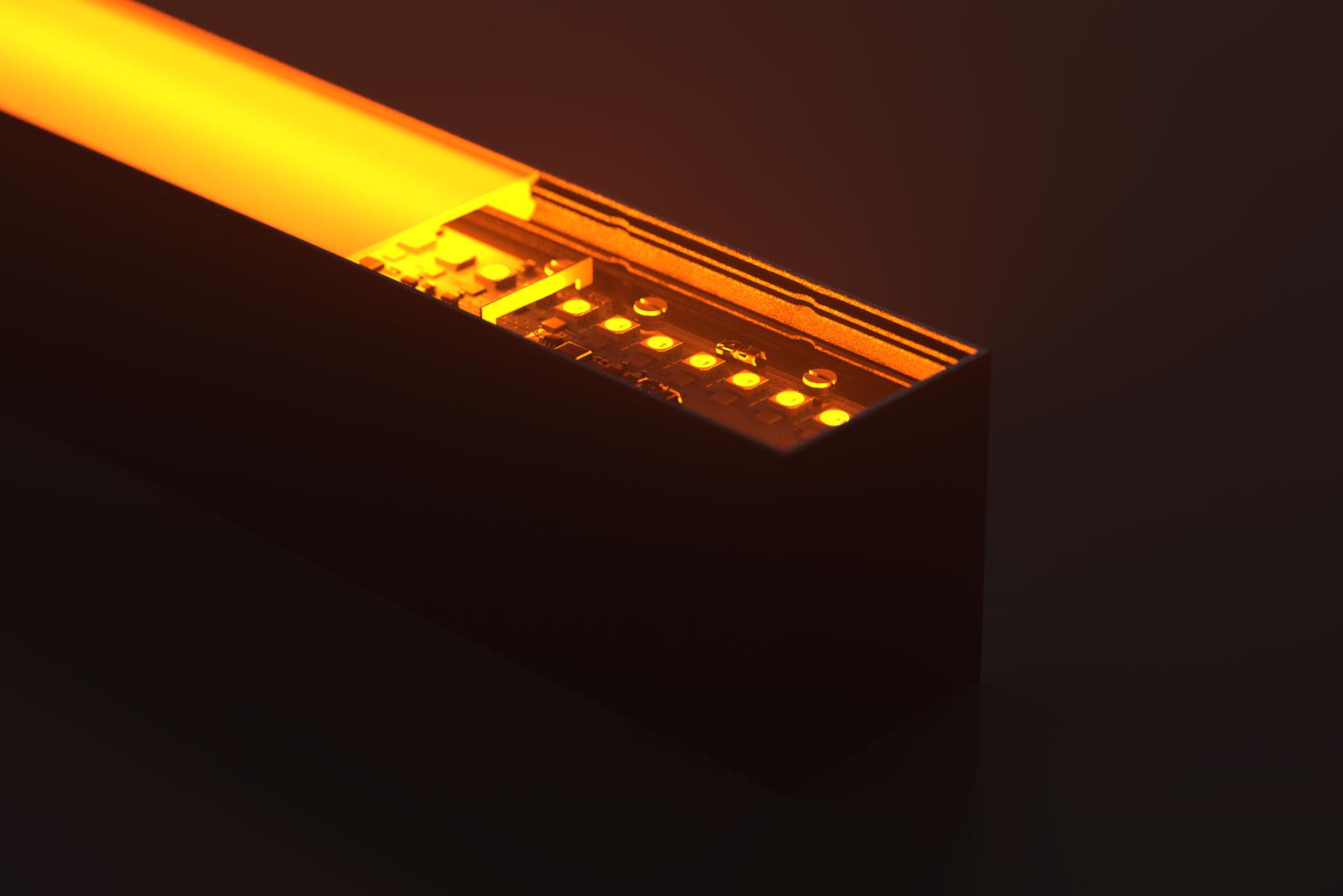 Explode001 close Orange Light